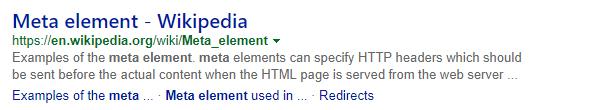 Meta description length in Bing
