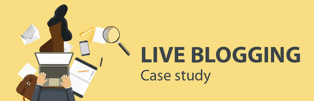 Case Study: How we used live blogging in link building